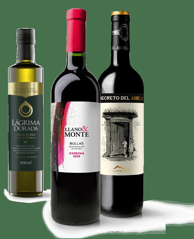 Vinos y aceites Llano y Monte